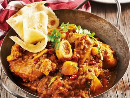 Pork trotter stew