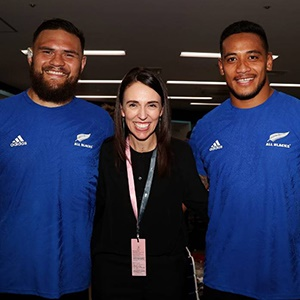 NZ Prime Minister Jacinda Ardern makes her Super Rugby pick as clear as a bell - Sport24