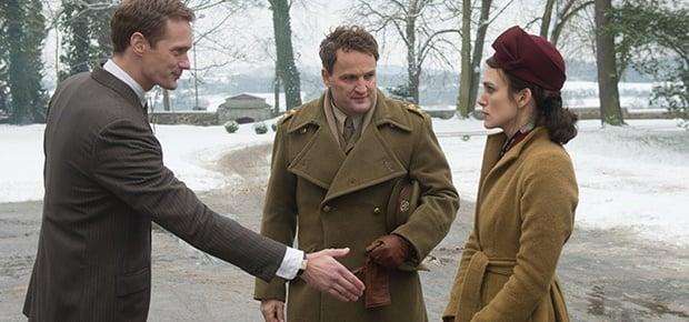 Alexander Skarsgård, Jason Clarke and Keira Knight
