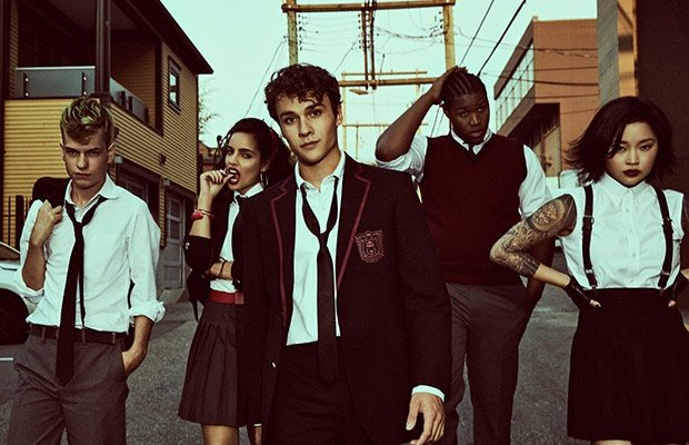 The cast of 'Deadly Class.' (Photo: Showmax)