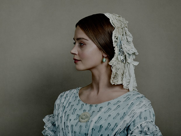 Jenna Coleman in the series, Victoria.