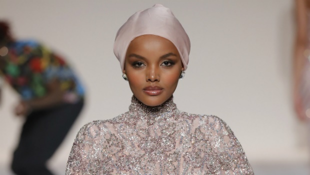 Halima Aden becomes first Hijab model to cover spo