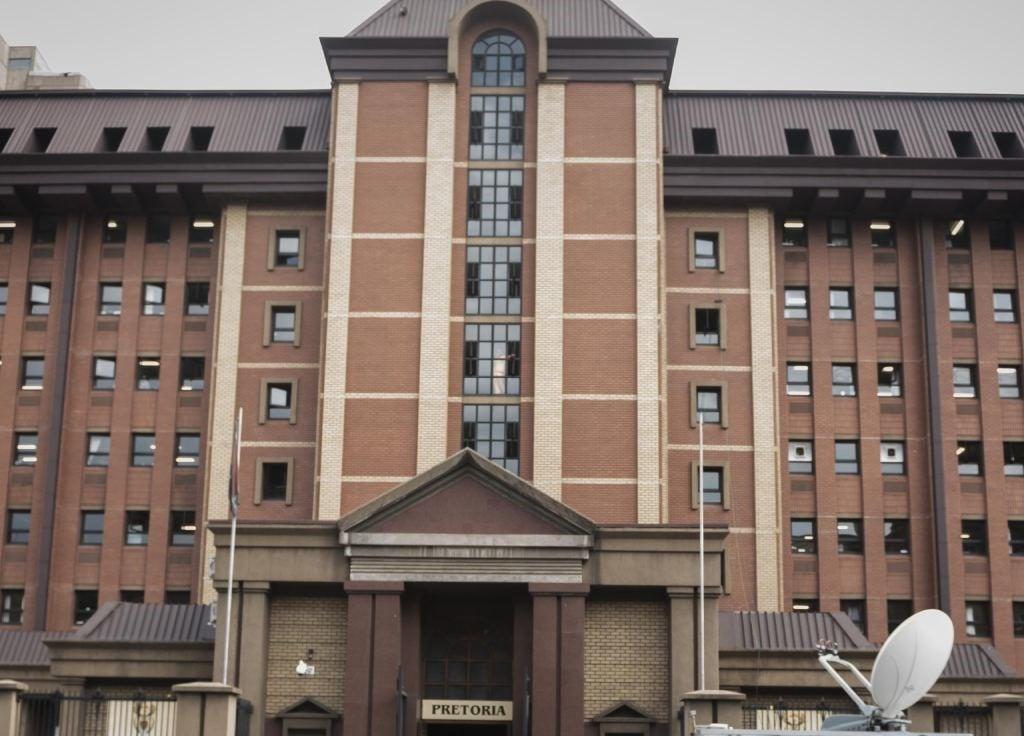 A view of the Pretoria High Court.