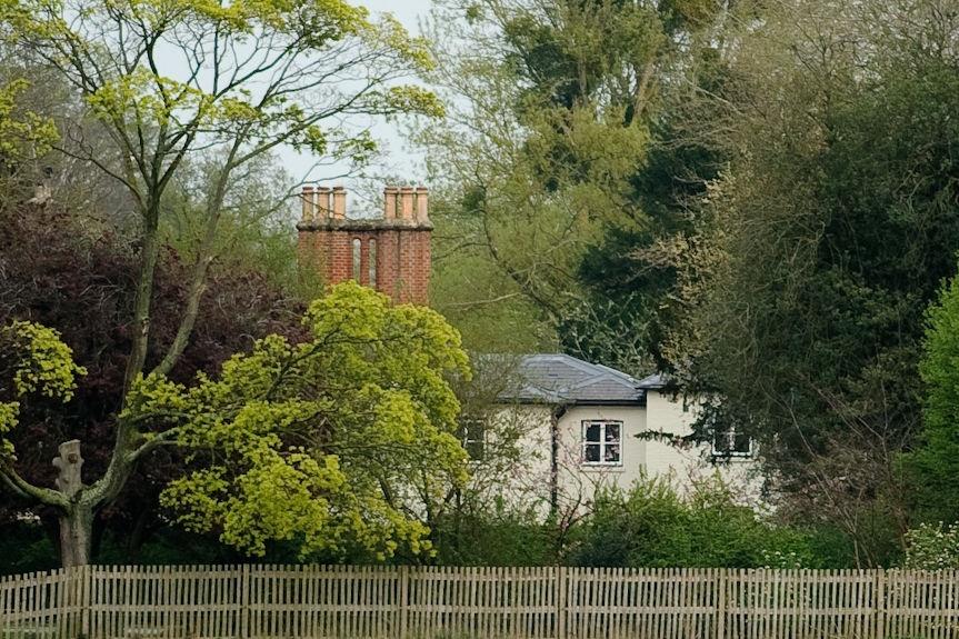 Frogmore Cottage, langs Windsorkasteel, waar Megha