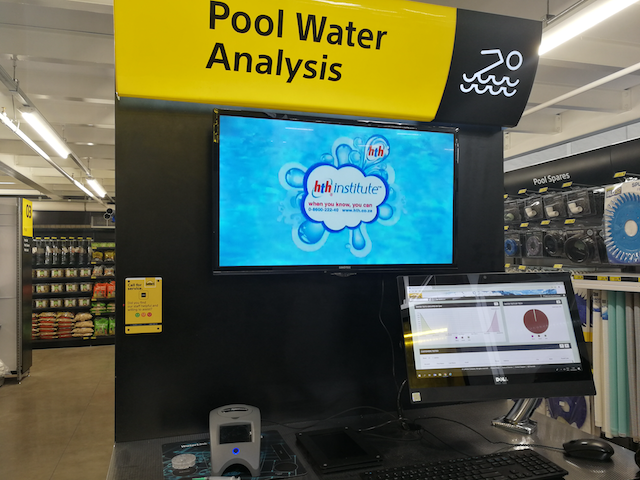 Builders pool water analysis