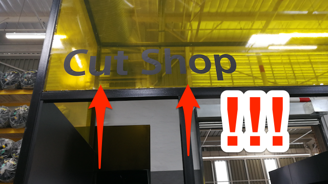Builders cut shop