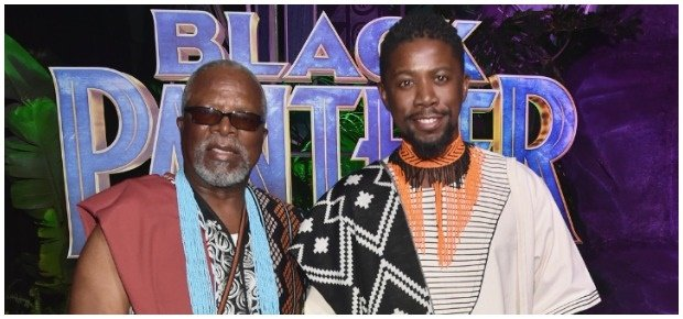 John and Atandwa Kani. (Photo: Getty Images/Gallo