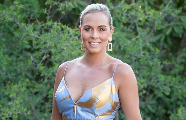 Bridget Marshall on 'The Bachelor SA.' (Photo: M-Net)