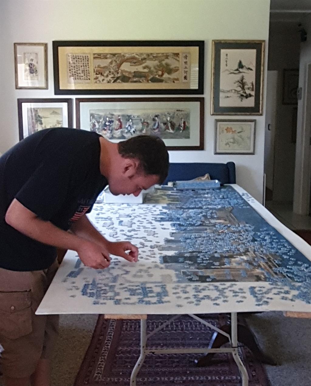 Stefan Oosthuizen probeer uitpluis waar elke stukk