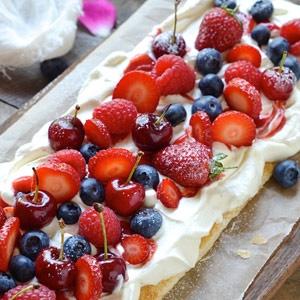 recipe, tart, summer, berries, dessert