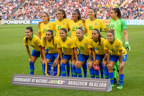 The Brazil Women's National Team.