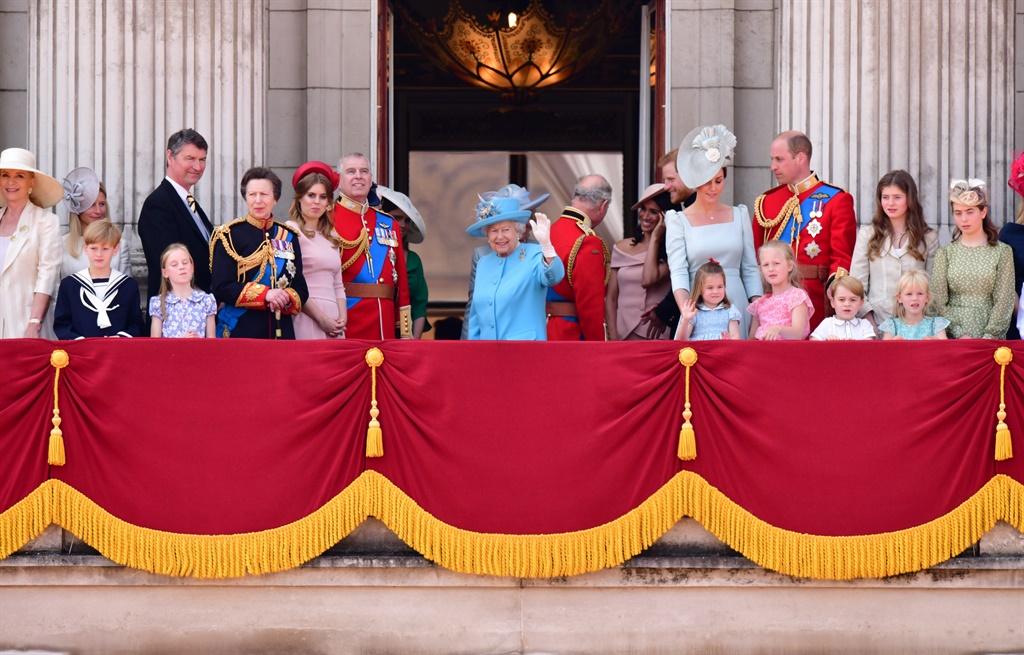 Koningin Elizabeth en haar kinders