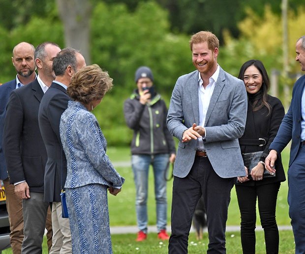 Prince Harry in the Netherlands