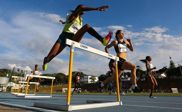 BRAGANCA PAULISTA, BRAZIL - APRIL 28: Athletes com
