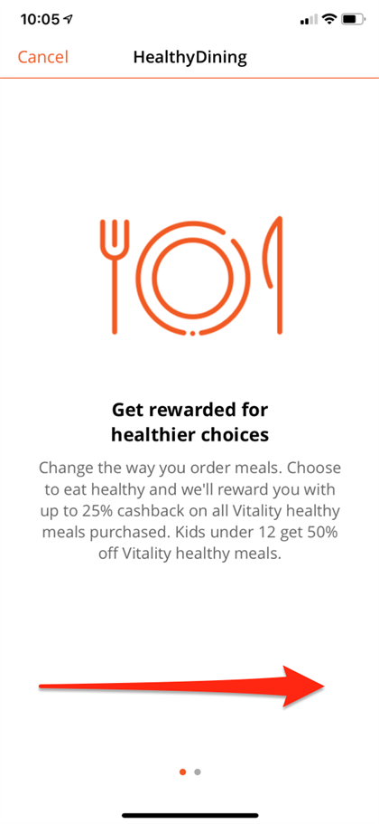 Vitality members can now save up to 50% off Uber Eats - but