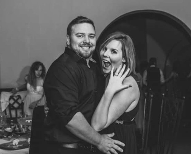 Kayla and Andre Burger married in November 2018. (