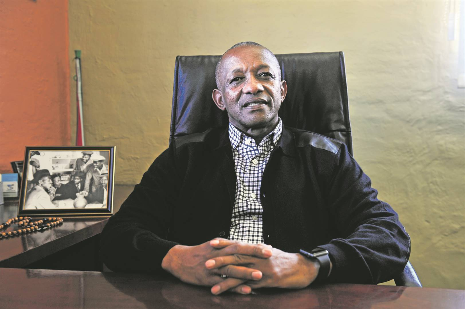 CHALLENGES Mpho Motsumi, president of the Greater Alexandra Chamber of Commerce and Industry. Picture: Cebile Ntuli