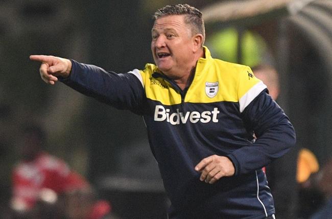 Bidvest Wits head coach Gavin Hunt.
