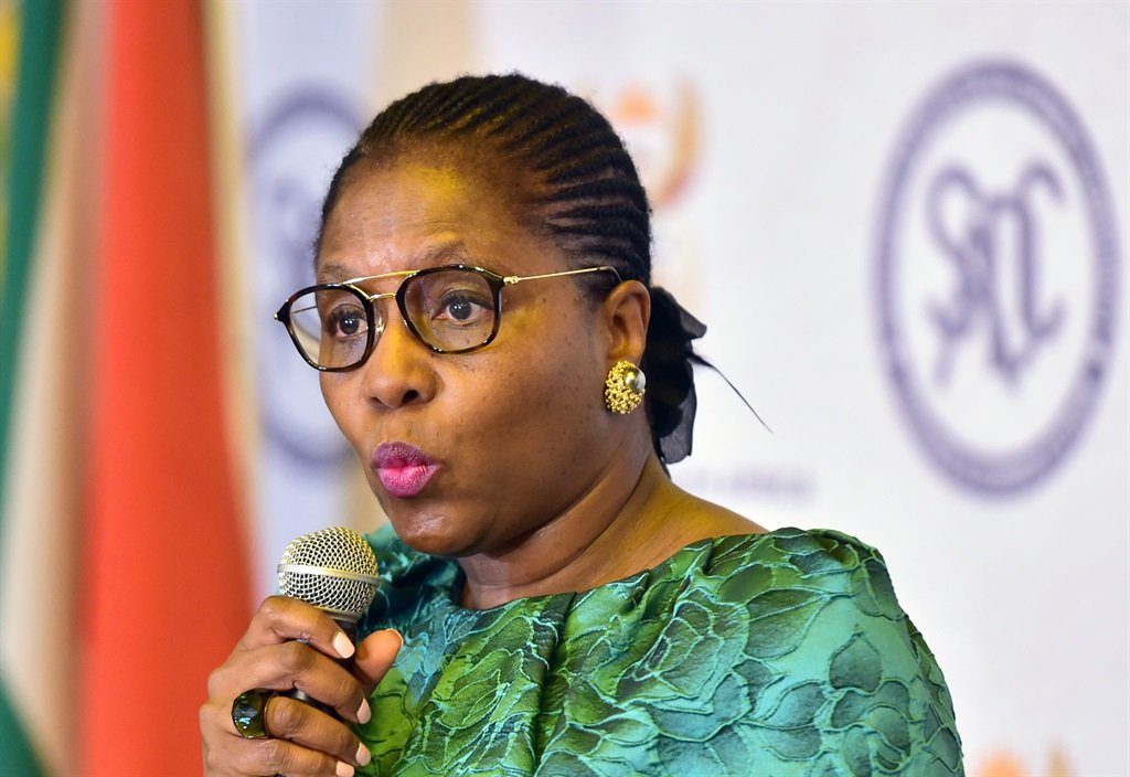State Security Minister Ayanda Dlodlo