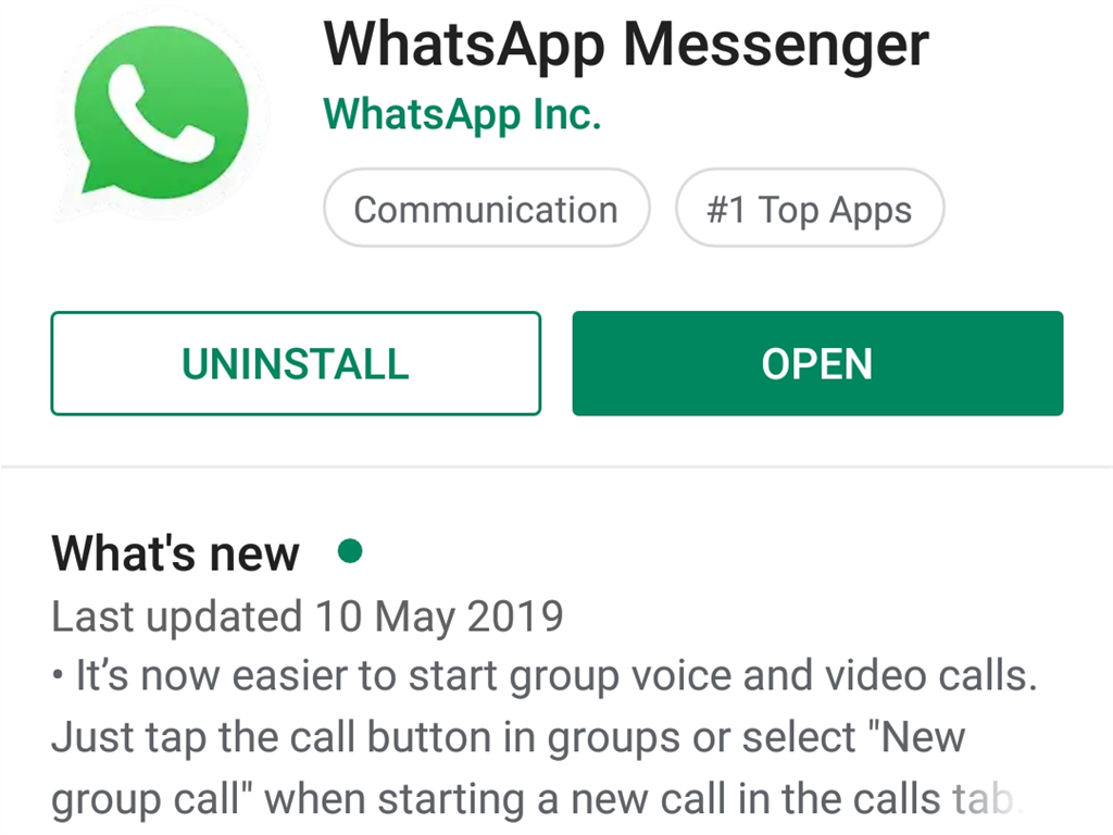WhatsApp users are being urged to update the app immediately after