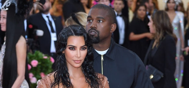 Kim and Kanye at the Met Gala. (PHOTO: Getty/Gallo