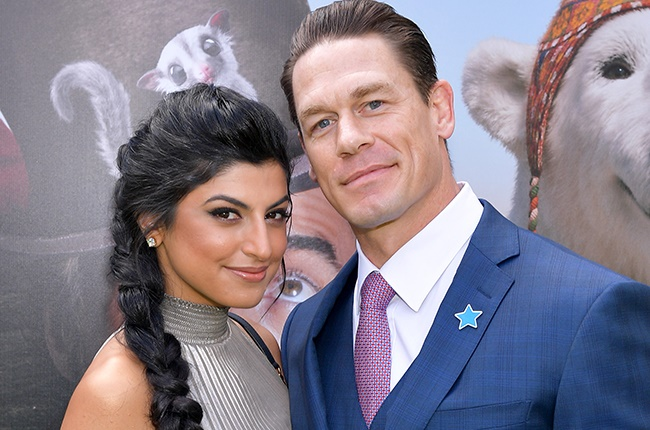 John Cena gets married to Shay Shariatzadeh in secret Florida wedding""