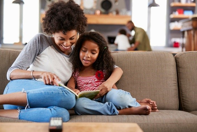 Reading to your child is an invaluable investment in their future.
