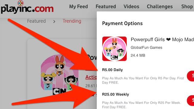 Vodacom Playinc