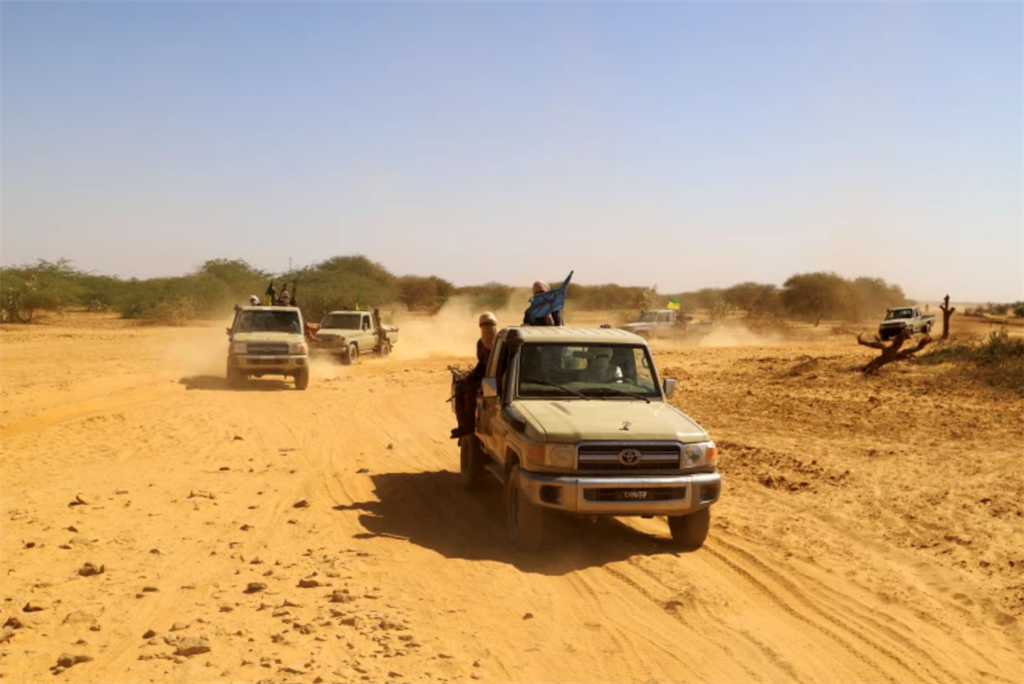 Depictions of Mali violence linked to al-Qaeda and ISIL-affiliated groups.