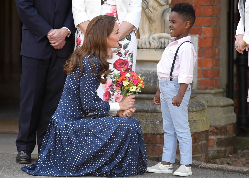 BLETCHLEY, ENGLAND - MAY 14: Catherine, Duchess of