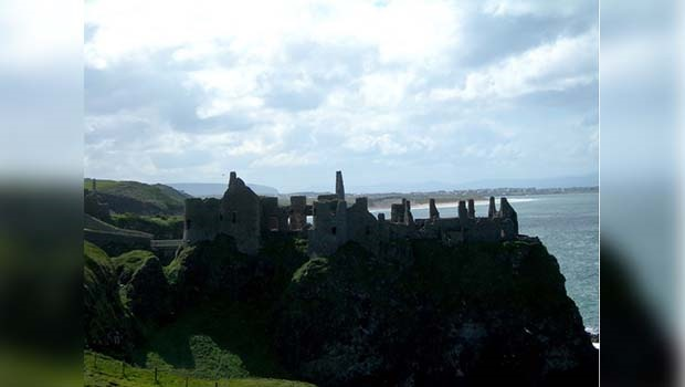 The dramatically sited 1?500-year-old Dunluce Cast