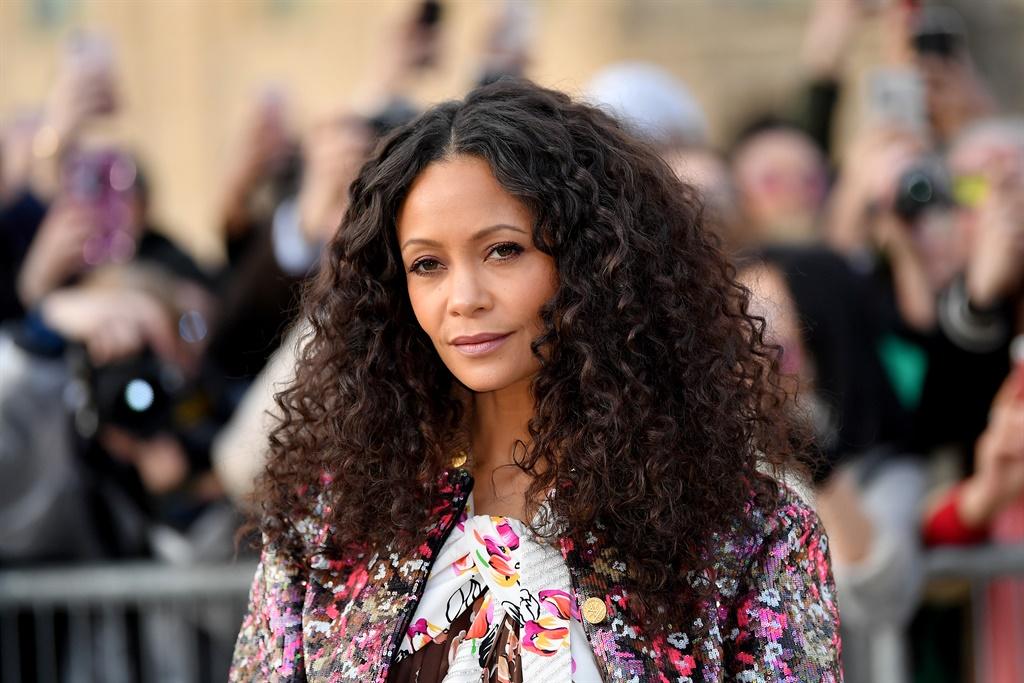 PARIS, FRANCE - MARCH 05: Thandie Newton attends t