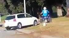 WATCH: Quad biker arrested for assaulting elderly man in PE road rage incident