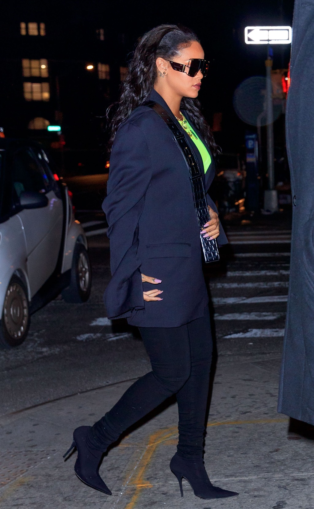 NEW YORK, NY - JANUARY 15: Rihanna out and about
