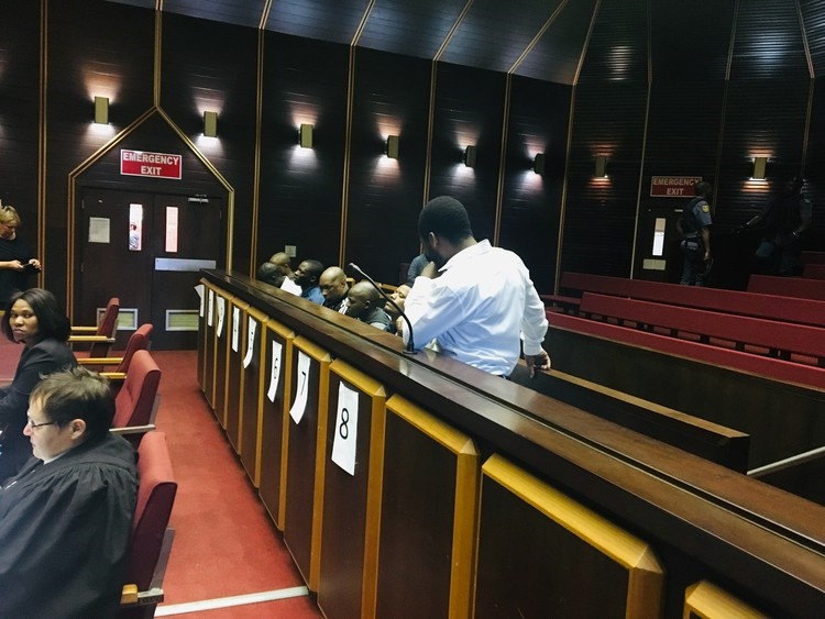 The trial of the men accused of murder at the Glebelands hostel in Umlazi has been adjourned to next year. (Photo: Nompendulo Ngubane, GroundUp)