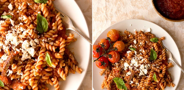 recipes, pasta, beef