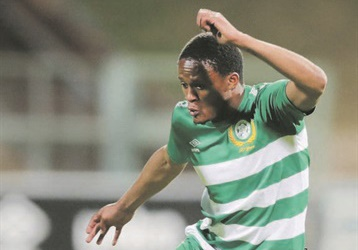 Bloemfontein Celtic striker Motebang Sera is eager to add to his seven-goal tally today. Picture: Samuel Shivambu / BackpagePix