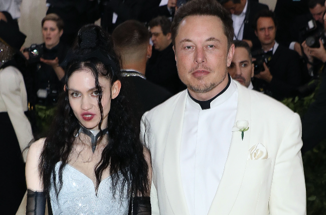 Elon Musk and his wife Grimes (PHOTO: Getty Images/Gallo Images)