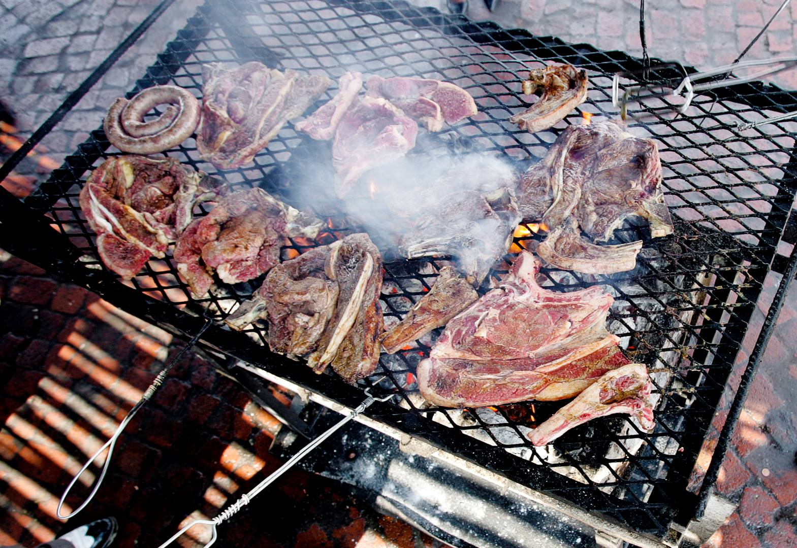 shisa nyama Be sure to pair your meat with healthy, grilled vegetables like these on Heritage Day