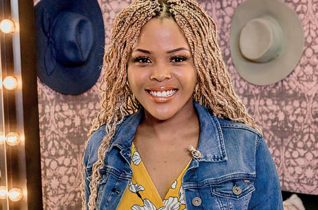 Expresso presenter Kuhle Adams.