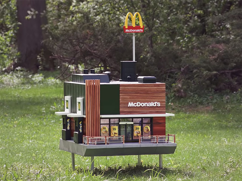 The World's Smallest Macca's Has Opened But It's Not For Humans