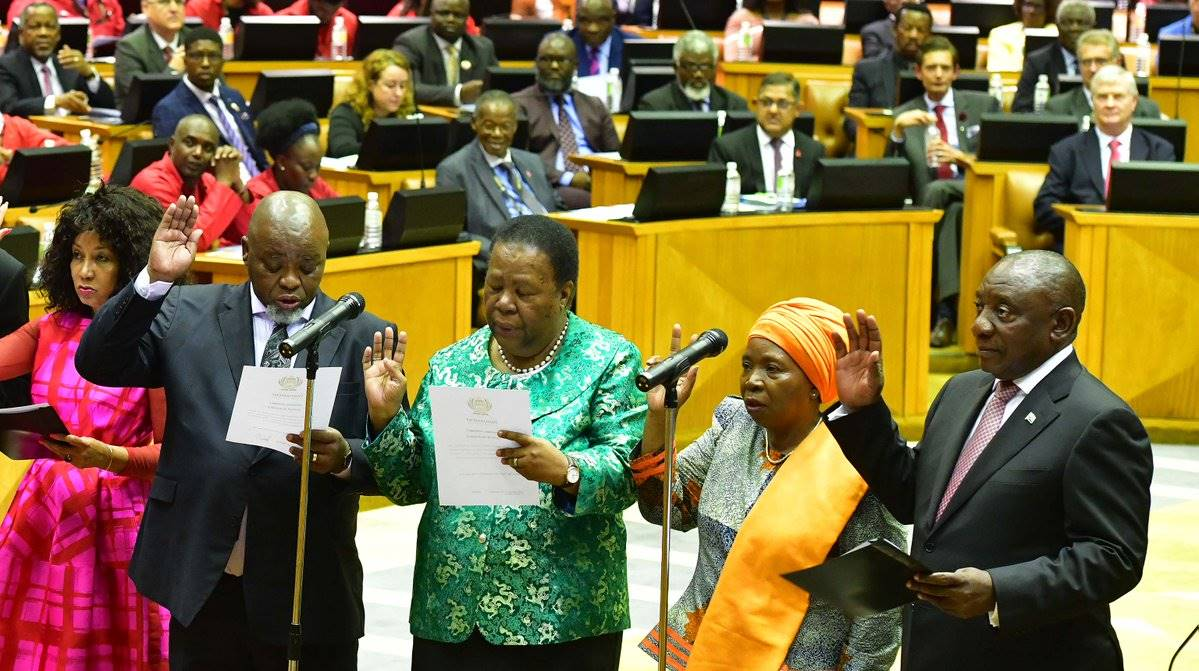 GALLERY: MPs sworn in at Parliament's first convening since elections | City Press