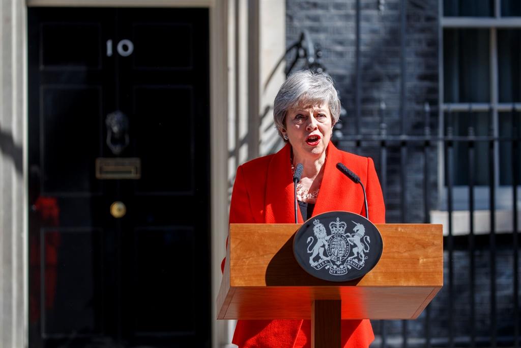 Britain's Prime Minister Theresa May. (Tolga Akmen, AFP)