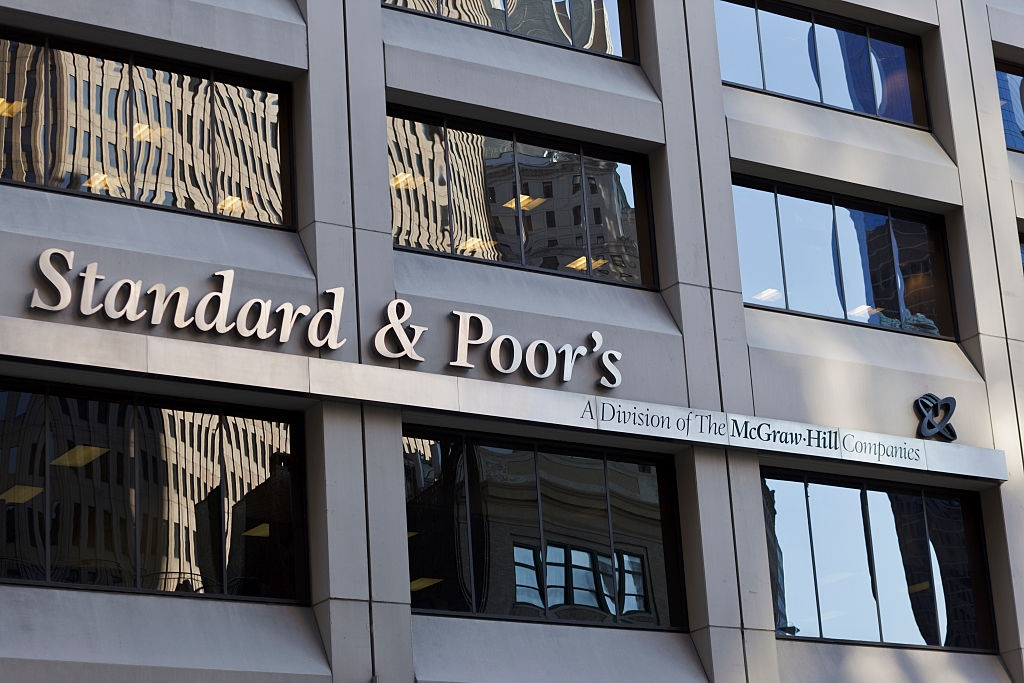 The headquarters of Standard and Poors in New York