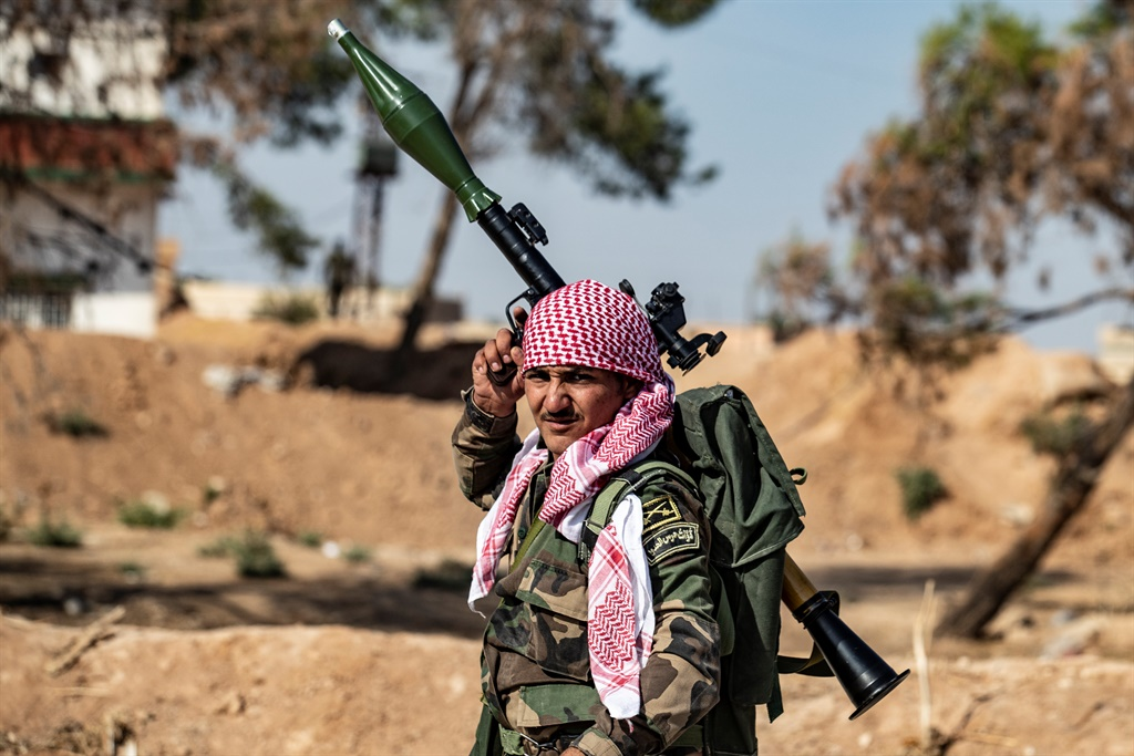Syrian government forces (Delil Souleiman, AFP)