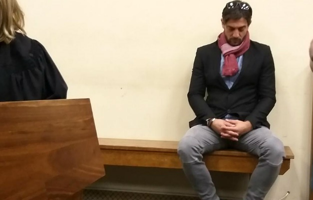 Adam Catzavelos in court. (Sesona Ngqakamba/News24)