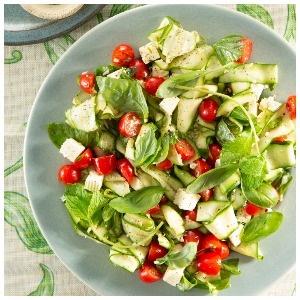Baby marrow salad