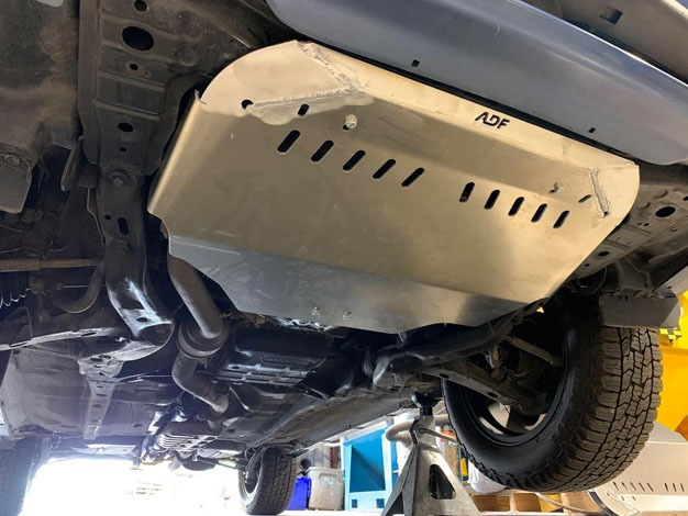 Subaru Forester skid plate