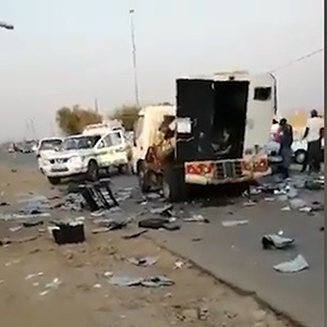 At least one suspect was arrested, and incriminating evidence recovered, just hours after a cash-in-transit vehicle robbery in Lotus Gardens, West of Pretoria on Tuesday. (Screengrab, News24)