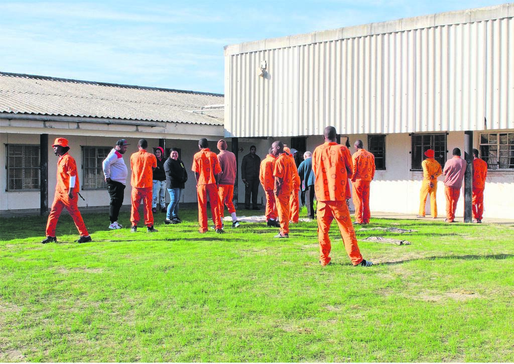 A rare opportunity for model citizens to socialise with inmates at Pollsmoor Prison.PHOTO: Tarryn Solomons